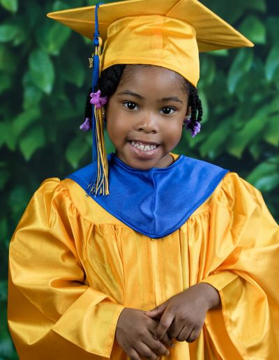 Pre School Cap And Gown School Picture Day
